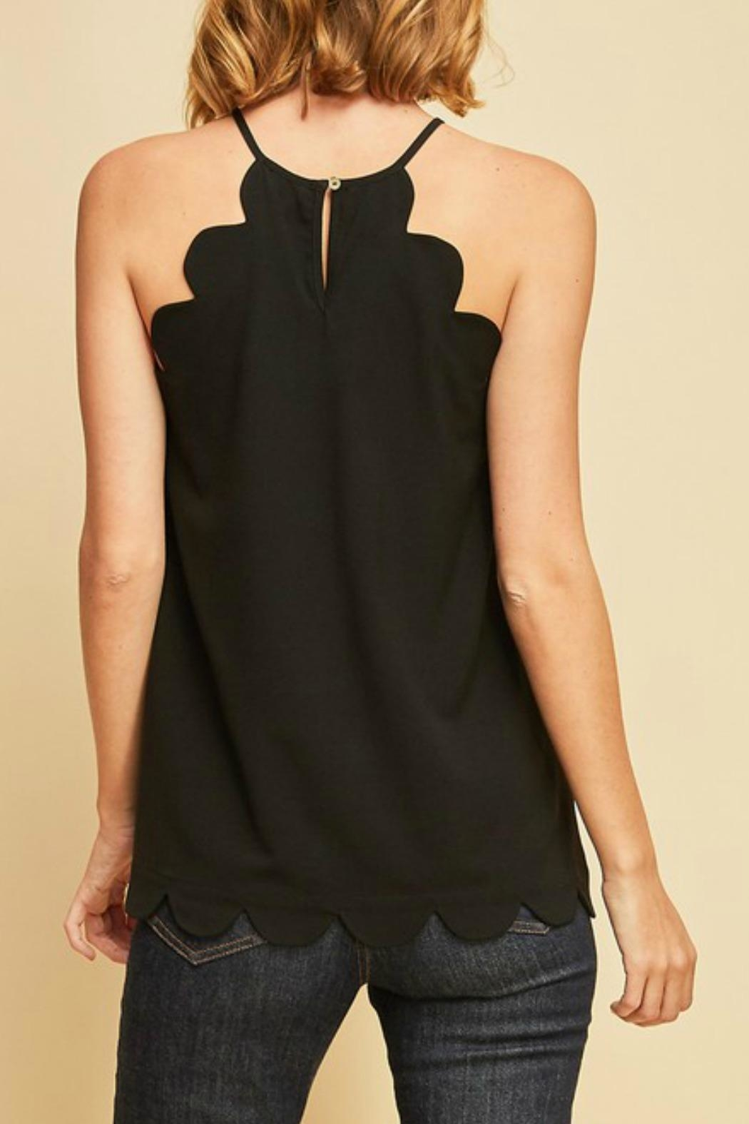 Entro Scalloped Top - Front Full Image