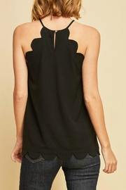 Entro Scalloped Top - Front full body
