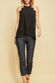 Entro Scalloped Top - Front cropped