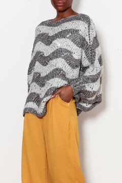 Katherine Barclay Scalloped Trim Poncho - Product List Image