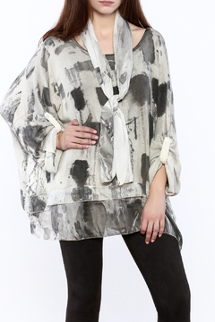 Shoptiques Product: Abstract Sequin Sweater