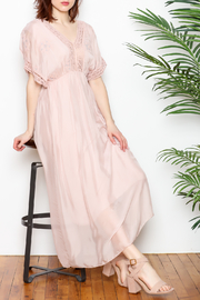 SCANDAL Crochet Maxi Dress - Product Mini Image