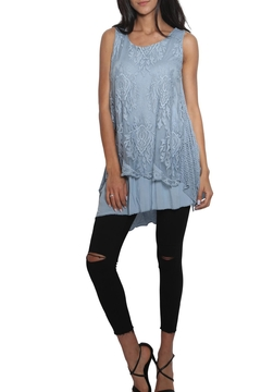 Shoptiques Product: Sleeveless Lace Layering Top