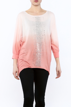 Shoptiques Product: Ombre Embellished Tunic Top