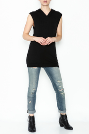 Scandalicious Sleeveless Hoodie - Side cropped