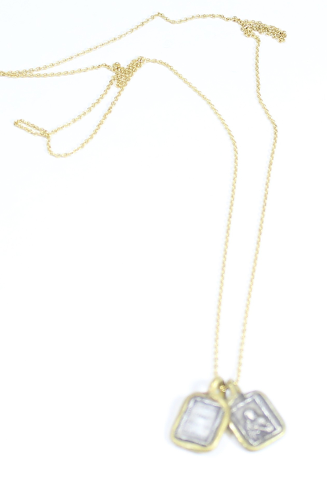 The Birds Nest SCAPULAR NECKLACE - 17 INCH CHAIN - Side Cropped Image