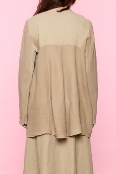 Shoptiques Product: Beige Linen Jacket