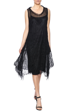 Scarborough Fair Black Tulle Dress - Product List Image