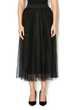 Scarborough Fair Black Tulle Tutu Skirt - Product List Image