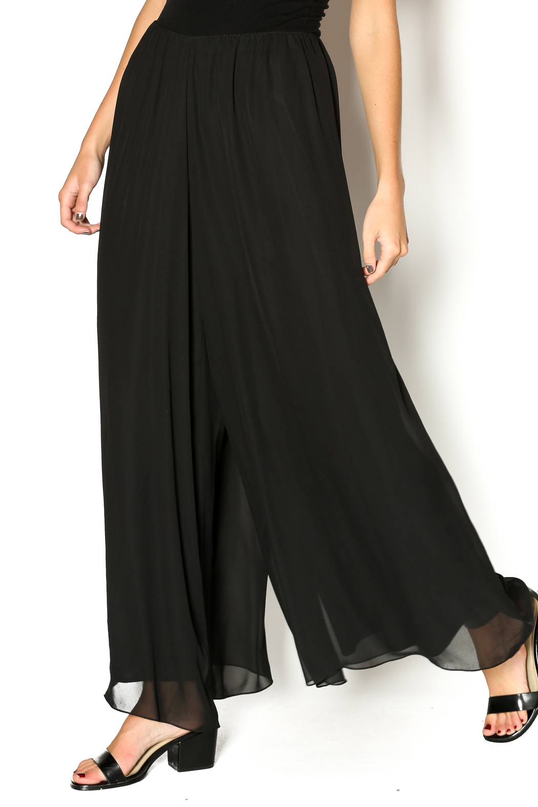 Scarborough Fair Chiffon Palazzo Pant From Saint Paul By