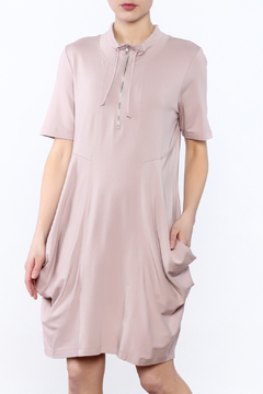 Scarborough Fair Pink Zip Dress - Product List Image