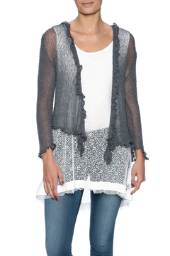 Scarborough Fair Ruffle Cardigan - Product List Image
