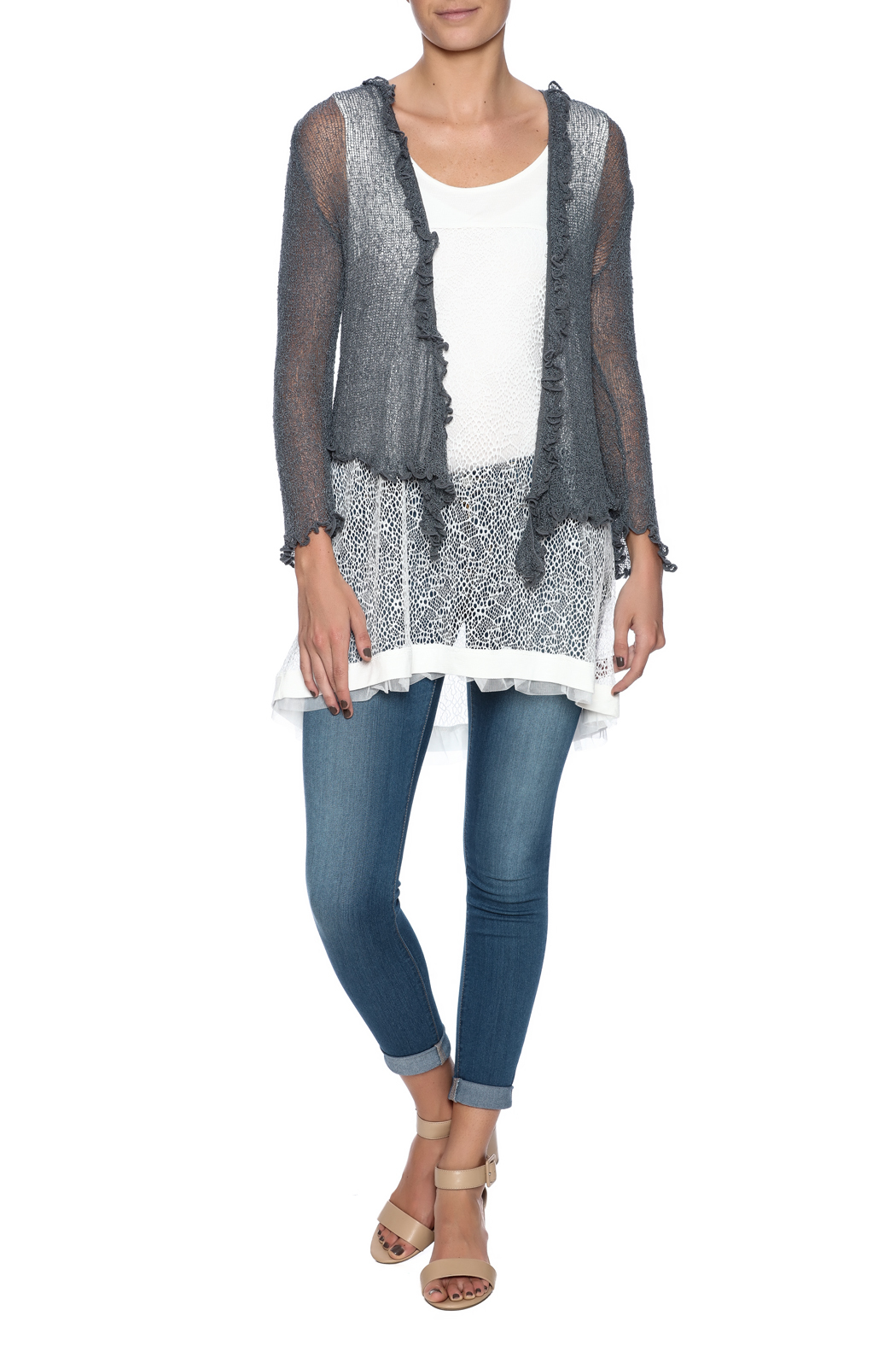 Scarborough Fair Ruffle Cardigan from Saint Paul by Scarborough ...