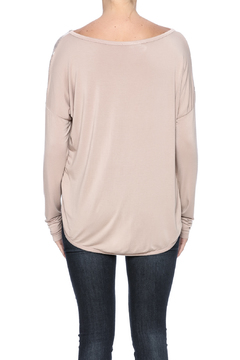Scarborough Fair Sequin Front Pink Top - Alternate List Image