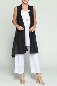 Shoptiques Product: Black Linen Vest
