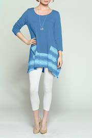 Scarborough Fair Bluejay Amy Tunic - Product Mini Image