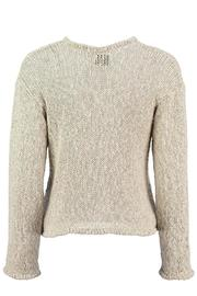 Scarecrow Natural Cotton Cardigan - Side cropped
