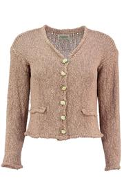 Scarecrow Natural Cotton Cardigans - Front cropped
