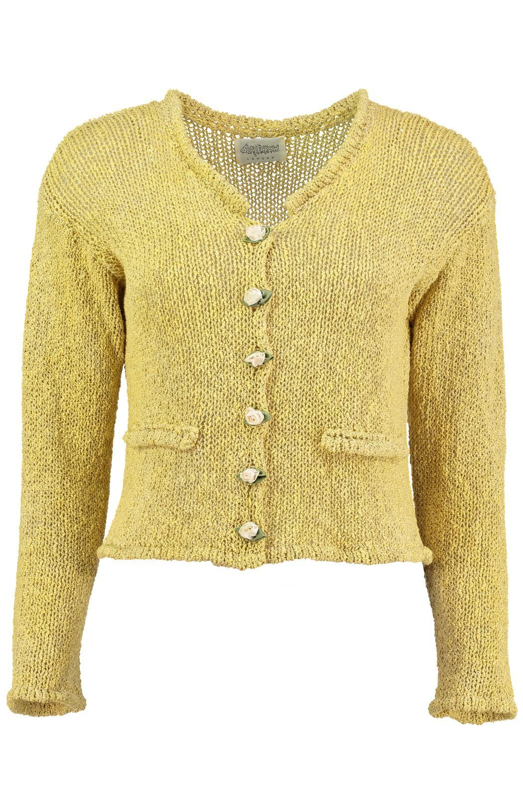 Scarecrow Natural Cotton Cardigans - Front Cropped Image