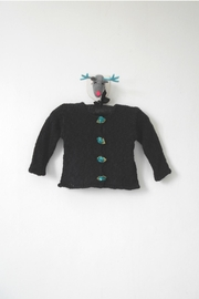 Scarecrow Kids Black Knitted Cardigan - Product Mini Image