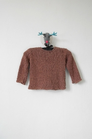 Scarecrow Kids Brown Knitted Cardigan - Front full body