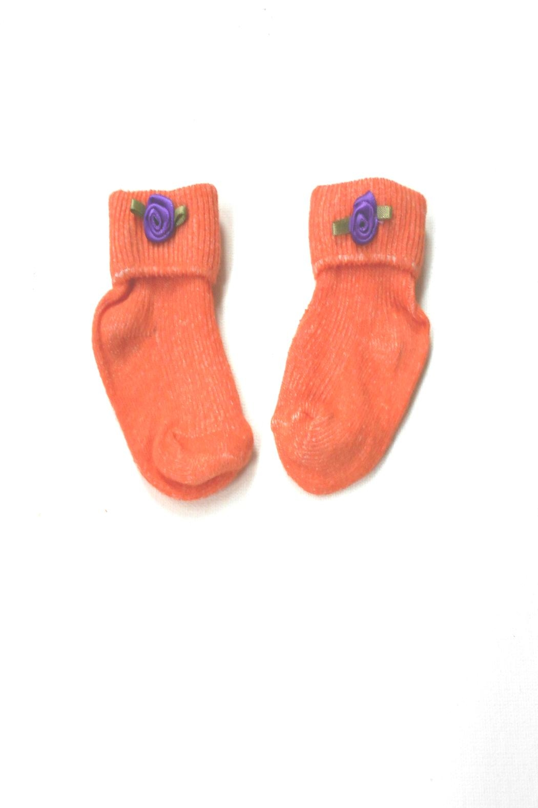 Scarecrow Kids Cotton Babies Socks - Front Cropped Image