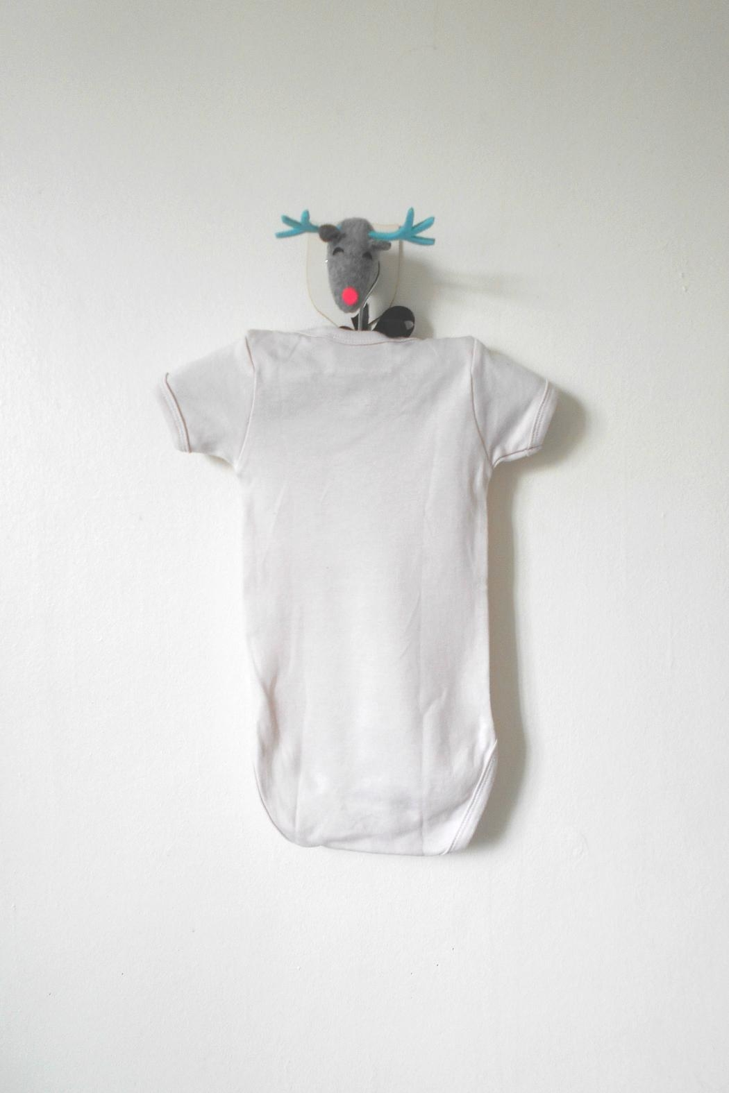 Scarecrow Kids Cream Rose Romper - Side Cropped Image