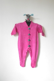 Scarecrow Kids Fuchsia Footed Onesie - Product Mini Image
