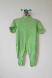 Scarecrow Kids Green Footed Onesie - Side cropped
