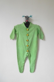 Scarecrow Kids Green Footed Onesie - Product Mini Image