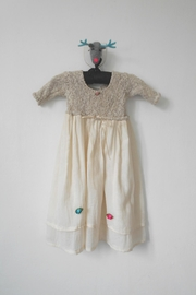 Scarecrow Kids Natural Muslin Dress - Product Mini Image