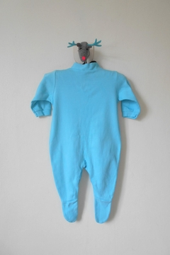 Scarecrow Kids Turquoise Footed Onesie - Alternate List Image