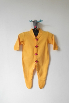 Shoptiques Product: Yellow Footed Onesie