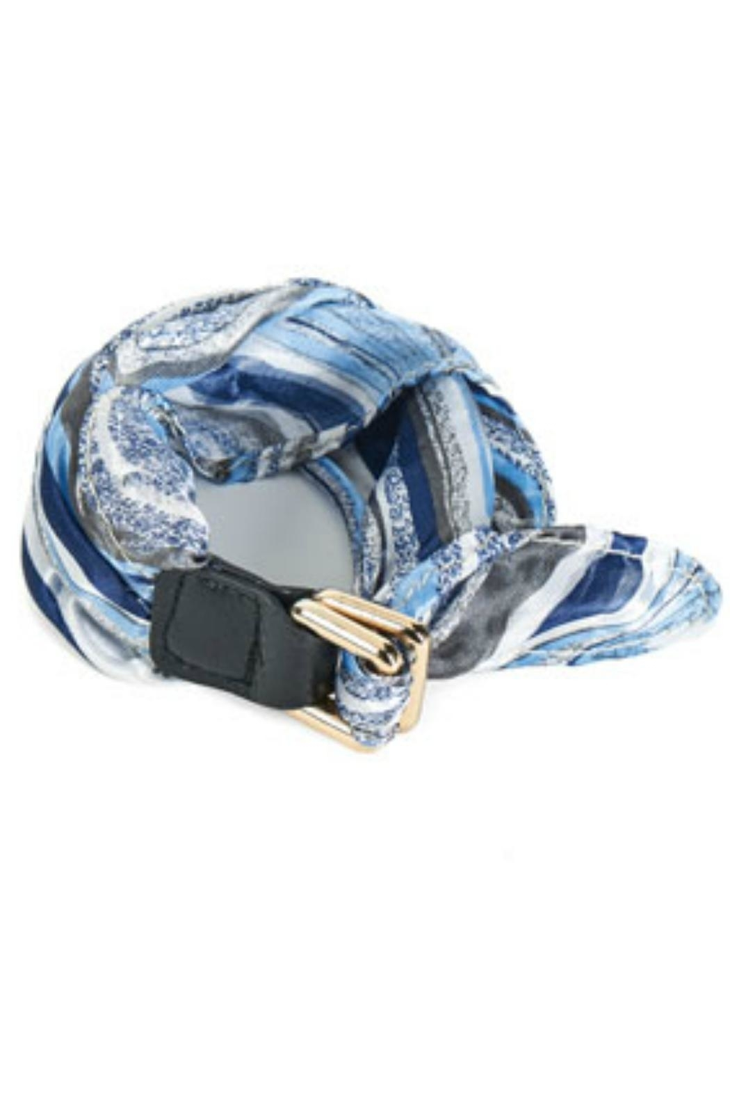 Coco + Carmen Scarf Buckle Bracelet - Front Cropped Image