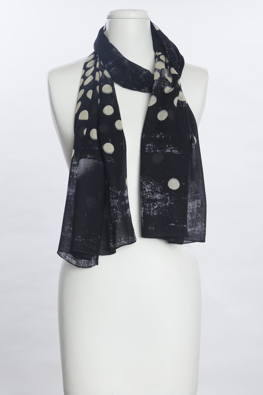 VSA Designs Scarf Dots - Front Cropped Image