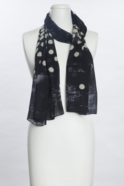 VSA Designs Scarf Dots - Front cropped