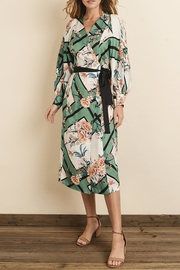 dress forum Scarf-Print Kimono Dress - Other