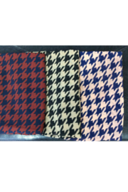 DiJore Scarf Round Houndstooth - Front cropped