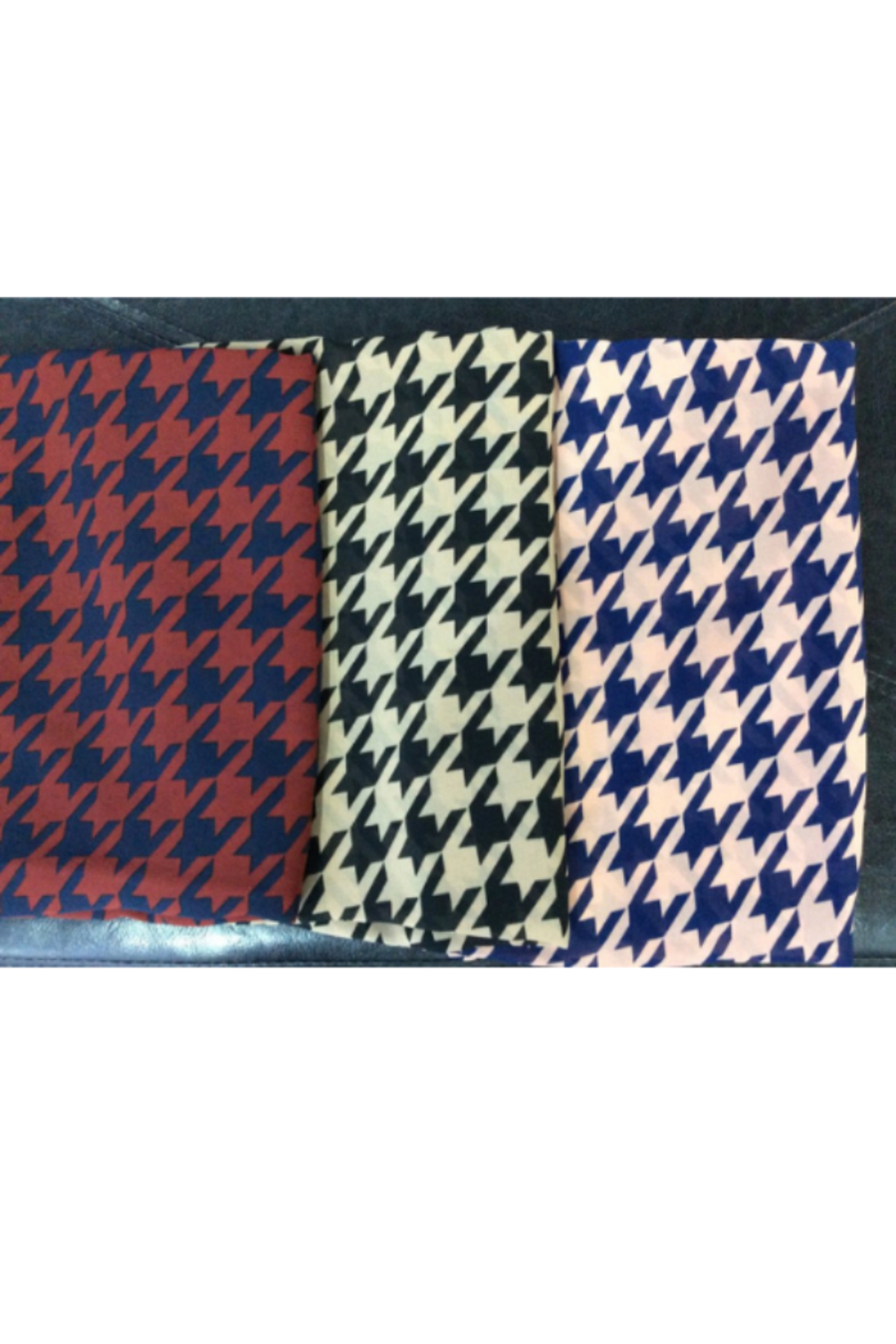 DiJore Scarf Round Houndstooth - Main Image