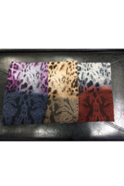 DiJore Scarf Round Leopard & Lace - Product Mini Image