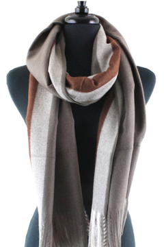 Pretty Persuasions scarf snow clouds - Alternate List Image