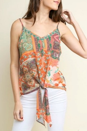 Umgee USA Pretty In Patchwork - Front cropped