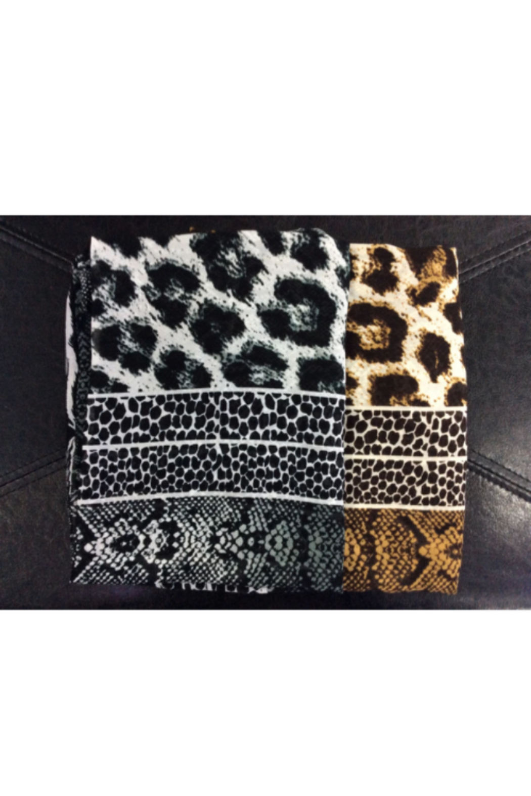 DiJore Scarf Square Animal - Front Cropped Image