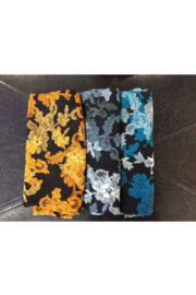 DiJore Scarf Square Flower Trail - Front cropped
