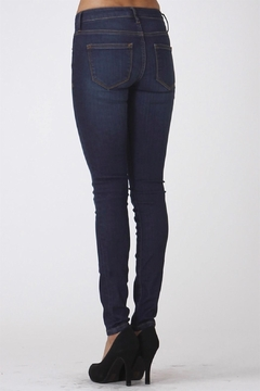 Scarlet Boulevard Dark-Denim Skinny Jeans - Alternate List Image
