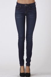 Scarlet Boulevard Dark-Denim Skinny Jeans - Product Mini Image