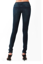Scarlet Boulevard Skinny Stretchy Jeans - Product Mini Image