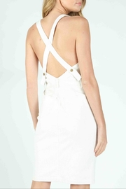 Honey Punch Scarlett Corduroy Overall-Dress - Side cropped