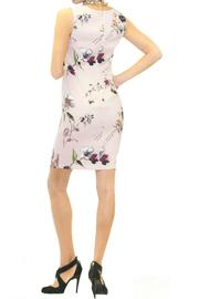 Scee Sleeveless Pink Floral Dress - Front full body