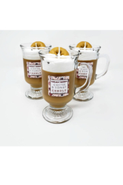 candlelit designs Scented Coffee & Donut Candle - Product Mini Image